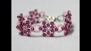 How To Make Beaded Kid Bracelet For Girl!