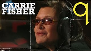 Carrie Fisher in Studio Q