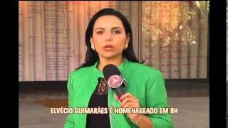 Ator Elv�cio Guimar�es � homenageado em BH