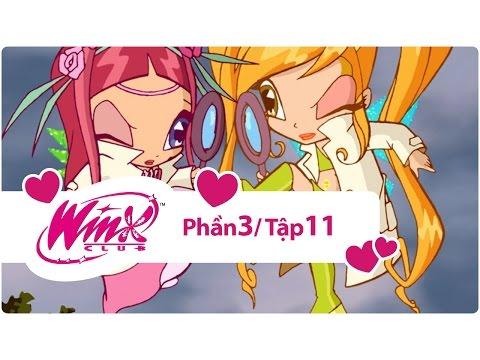 Winx Club - Phần 3 Tập 11 - Cái bẫy dành cho những nàng tiên - [trọn bộ]
