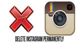 How to permanently delete your instagram account youtube ccuart Image collections