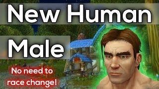 New Human Male Character Model Warlords Of Draenor