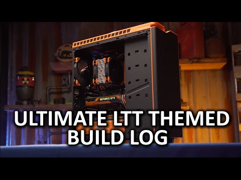 The ULTIMATE Linus Tech Tips Themed PC Build Log