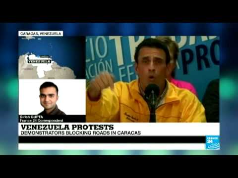 Venezuela: Opposition leader Capriles spurns talks with Maduro