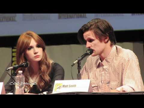 DOCTOR WHO Matt Smith San Diego Comic Con 2011 5 of 5