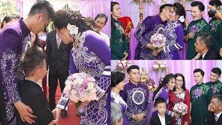 Toàn cảnh buổi lễ đám cưới : Lê Phương và Trung Kiên vỡ òa hạnh phúc trong ngày trọng đại