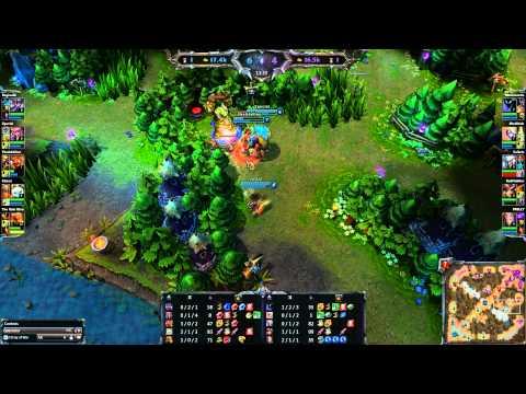 League of Legends - TSM vs RFLX g2 - NESL Premiere League Playoffs