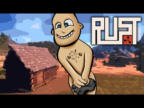 NAKED SURVIVAL...EWW, GROSS! ★ Rust (1): Survival Games