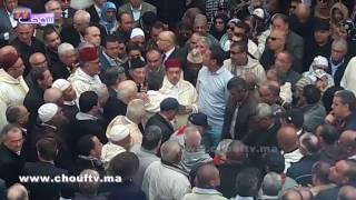 هذا ما وقع اليوم في الجنازة المهيبة للراحل الاستقلالي أحد بوستة بمراكش (فيديو)   خارج البلاطو
