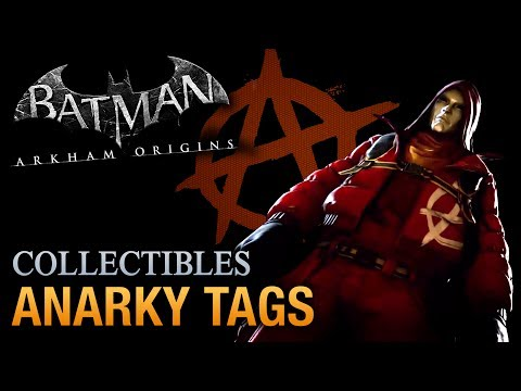 Batman: Arkham Origins - Anarky Tags [Voice of the People Achievement / Trophy]