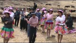 """SANTIAGO En El Pueblo De Quishuar Canipaco Huancayo """"2012"""