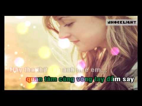 Hãy Tha Thứ Cho Anh Em Nhé - Karaoke HD