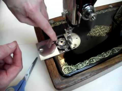 singer sewing machine bobbin threading