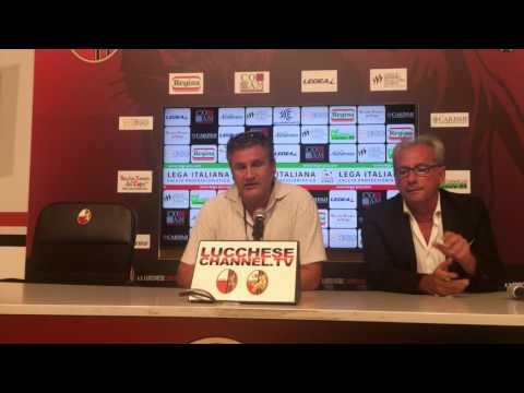 Copertina video Lucchese-Piacenza 1-1, interviste/2
