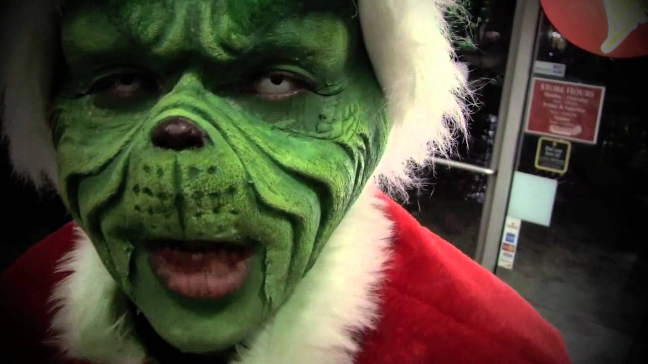 """The Grinch"" Makeup - YouTube Jim Carrey Grinch Makeup"