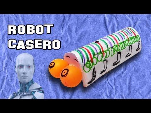 Como Hacer un Robot Casero | Experimentos Caseros