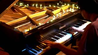 Master of Puppets on piano, Scott Davis