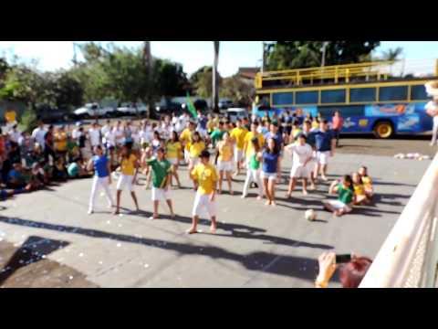 Coreografia da Copa 2014 - Gincana Fera Equipe Azul