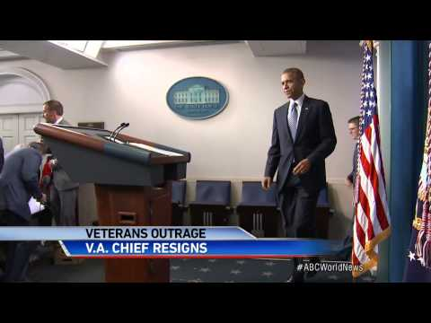 VA Secretary Eric Shinseki Resigns and Apologizes, Also Jay Carney Steps Down