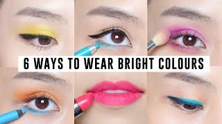 6 Easy Ways to Wear Bright Makeup
