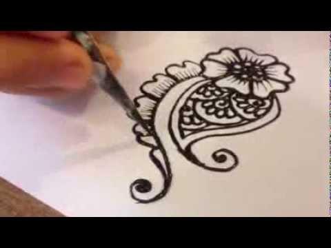 [Henna Tattoo Vietnam] - Hướng Dẫn Vẽ Henna Cơ Bản