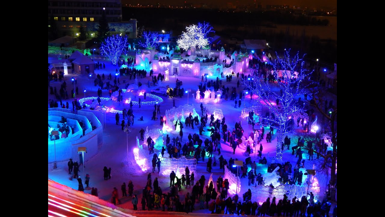 Фото омск советский парк новый год 2018 5