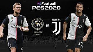 Udinese v Juventus 🎮? | PES 2020 Friendly⚽?| ESPORTS