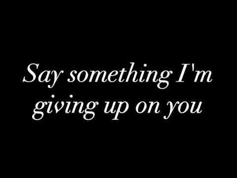 Say Something [Cover]- The Eden Project (Lyrics)