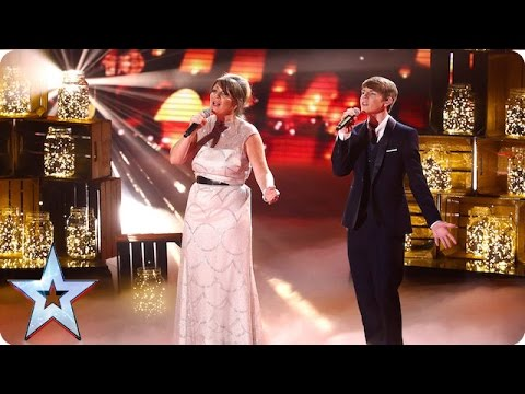Mel and Jamie cover Love Can Build A Bridge | Grand Final | Britain's Got Talent 2016