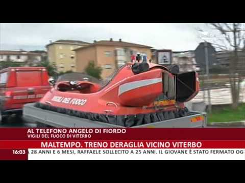 Rai News 24: Maltempo a Roma Nord e Ponte Milvio