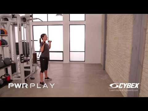 Cybex PWR PLAY - Unsupported Overhead Press