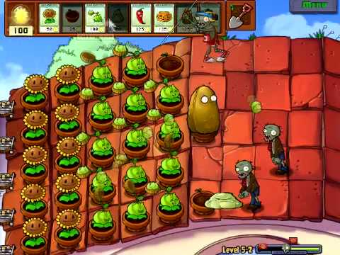 Plants Vs Zombies - Stage 5-2