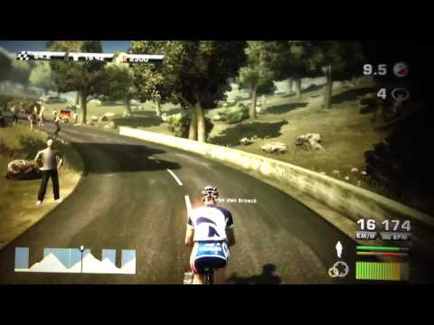 Tour de France 2012 PS3 Lotto Étape 12 part1