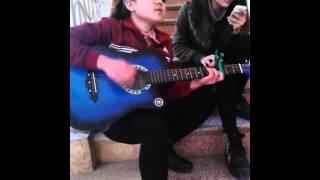 Rolling in the deep - Tép Riu - Adele phiên bản ngồi cầu thang