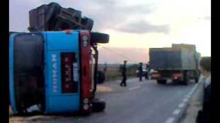 Accidente de camión