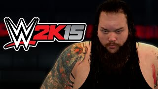 WWE 2K15 FIRST MATCH! BRAY WYATT Vs. CM PUNK!