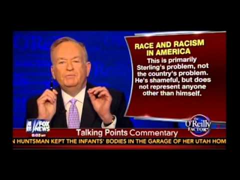 Bill O'Reilly on Donald Sterling, Cliven Bundy, Racism, Entitlement, Snoop Dogg and Sharpton