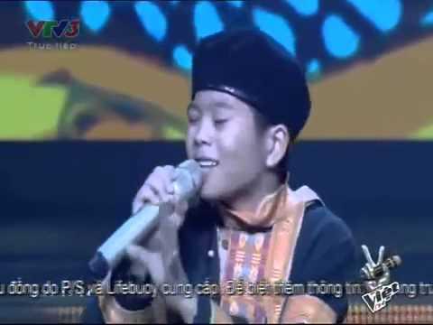 Chiếc Khăn Piêu   Nguyễn Quang Anh   Giọng Hát Việt Nhí 2013