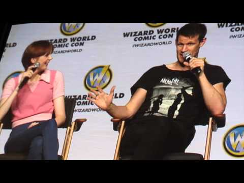 Matt Smith and Karen Gillan Panel at Philadelphia Comic Con - June 21 2014