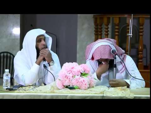 الشيخ منصور السالمي يقرئ ايه النور والشيخ نايف يتأثر ويبكي
