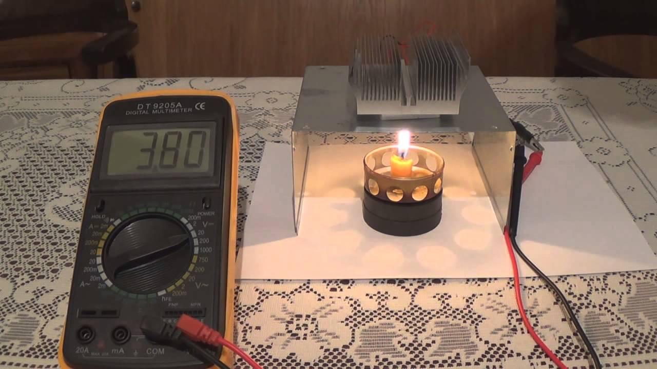Термоэлектрический генератор своими рук 263
