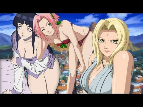 Top 10 Sexiest Females of Naruto