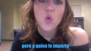 Miley Cyrus Rap Twitter (Traducida Al Español)