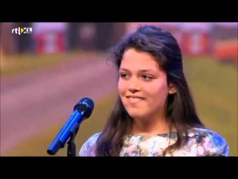 HOLLAND'S GOT TALENT SOFIA ASGARI -AFGHAN 12 YEARS OLD GIRL