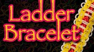 How To Make A Rainbow Loom Ladder Bracelet HD
