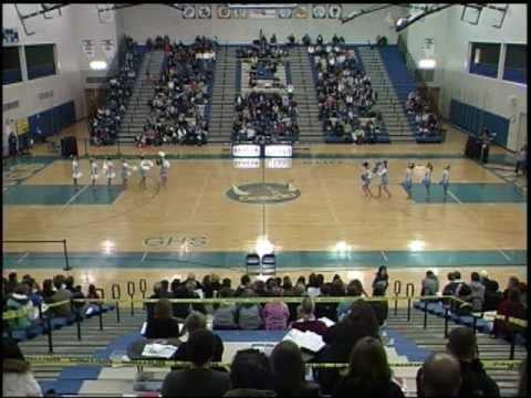 troy middle school poms   youtube