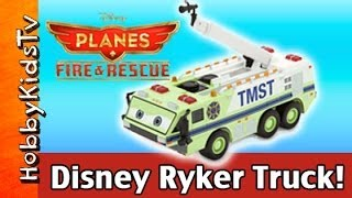 2014 Disney PLANES: Fire Rescue RYKER Truck TMST, Toy