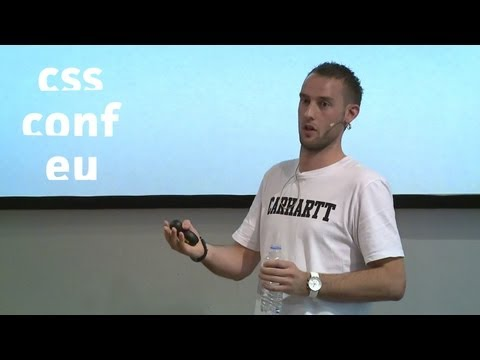 Thumbnail of video [CSSconf.eu 2013] Harry Roberts - Normalising designs for better quality CSS