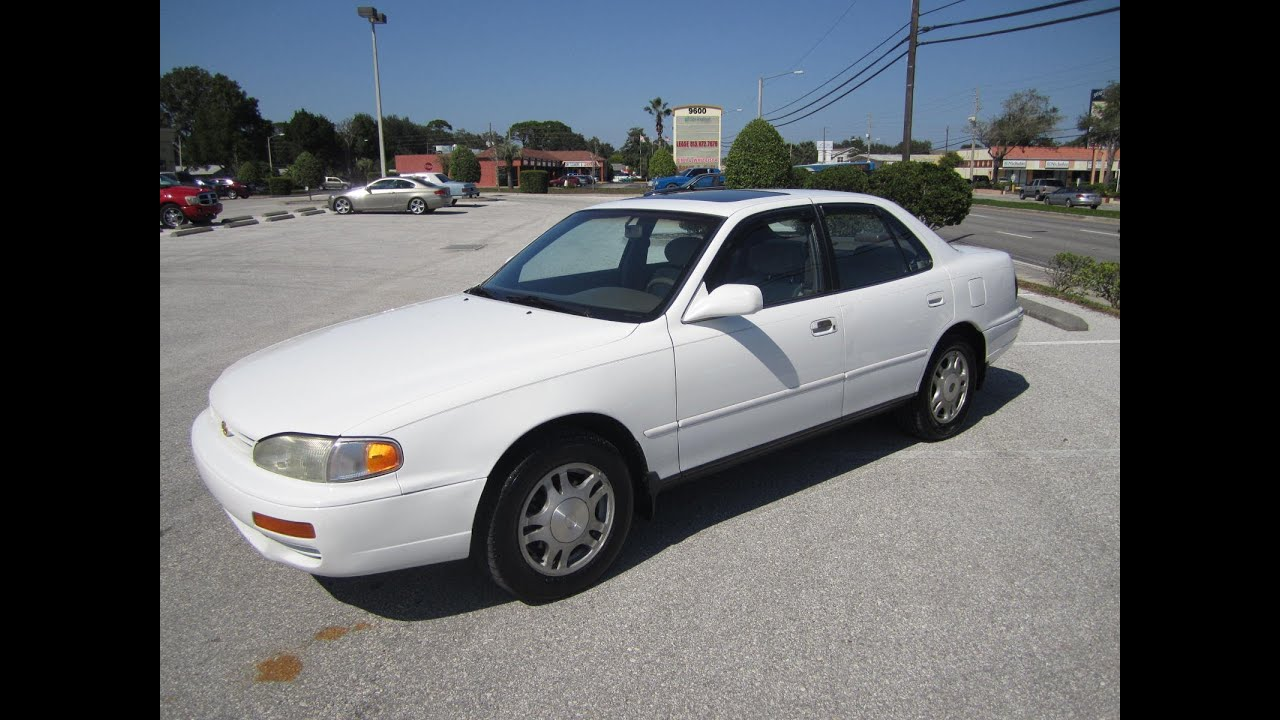 Sold 1996 toyota camry le v6 meticulous motors inc florida for 1996 toyota camry power window problems