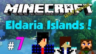 Minecraft: Eldaria Islands V3! Episode 7 - House Building (w/ Friends!)